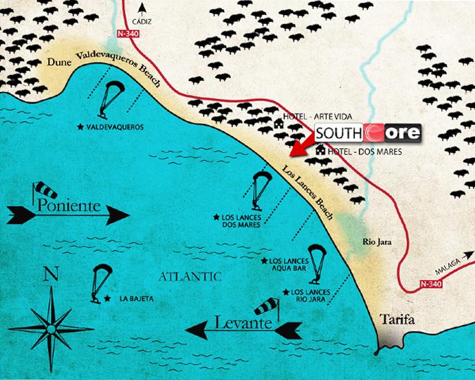 localizacion southcore
