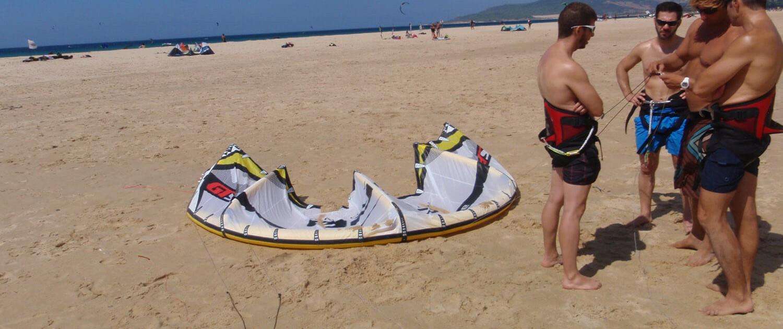 curso de kitesurf para principiantes